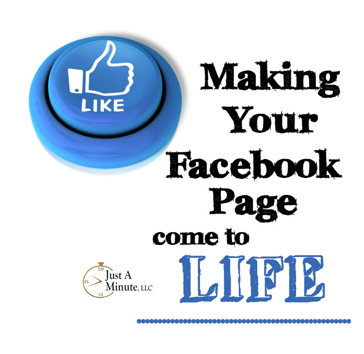 how to make facebook page live