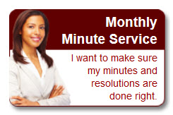 Monthly Minute Service